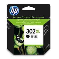 HP 302XL Cartouche d'Encre Noir Authentique Grande Capacité (F6U68AE)