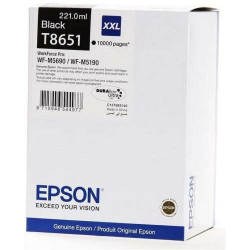 Epson T8651 XXL noir Cartouche d'encre d'origine