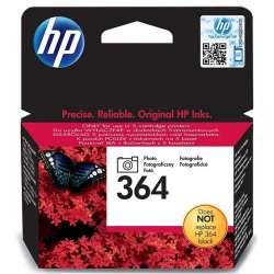HP 364 photo noir Cartouche d'encre d'origine
