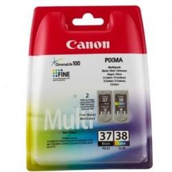 Canon PG-37 noir, CL-38 couleur