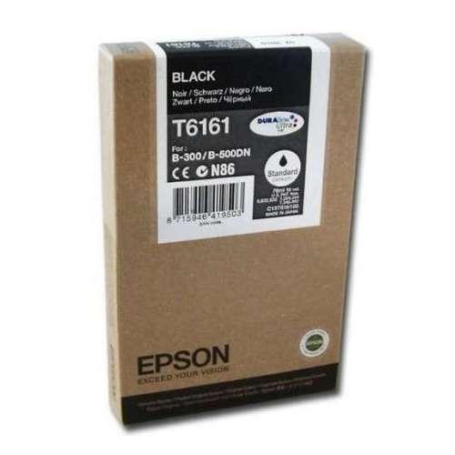 Epson T6161 noir Cartouche d'encre d'origine au meilleur au prix sur promos-boutique.com