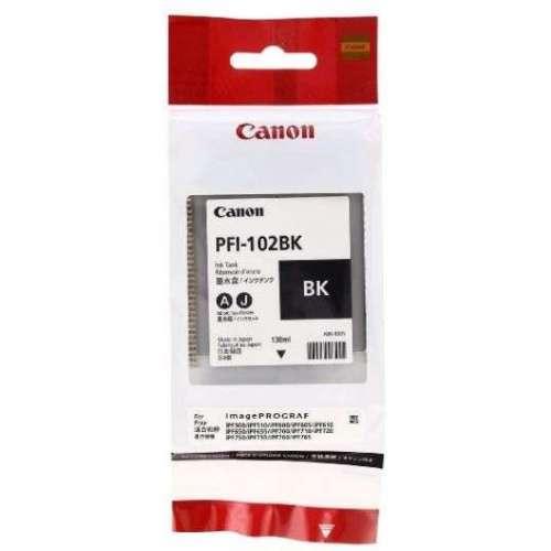 Canon LUCIA PFI-102BK noir Réservoir d'encre d'origine