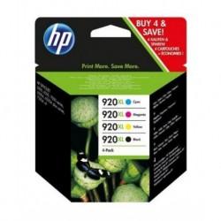 HP 920XL Pack de 4 Cartouches d'encre au prix le moins cher sur promos-boutique.com