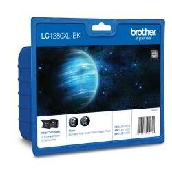 Brother LC1280XLBKBP2 Noir cartouche d'encre originale - Pack de 2