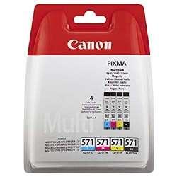 Canon cli-571 Cartouches d'encre d'origine Noir/Cyan/Magenta/Jaune