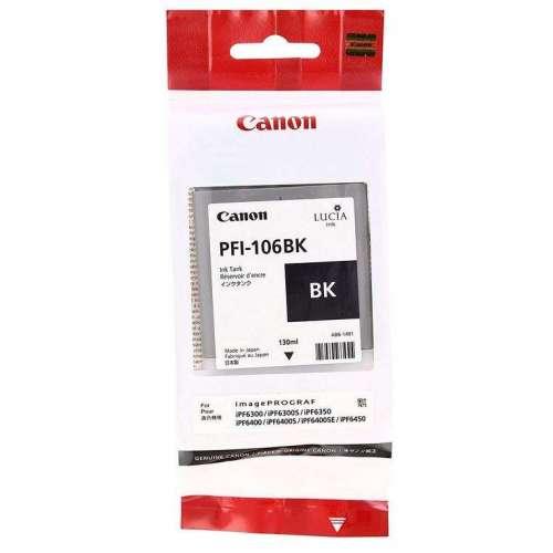 Canon LUCIA PFI-106BK Noir Cartouche d'encre d'origine au meilleur au prix sur promos-boutique.com