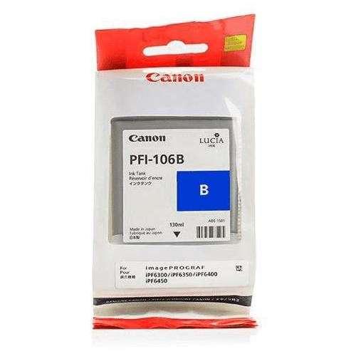 Canon LUCIA PFI-106B Bleu Cartouche d'encre d'origine au meilleur au prix sur promos-boutique.com