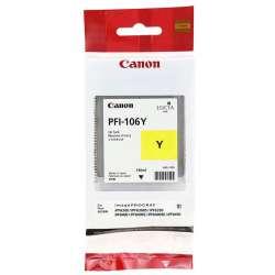 Canon LUCIA PFI-106Y jaune Cartouche d'encre d'origine au meilleur au prix sur promos-boutique.com