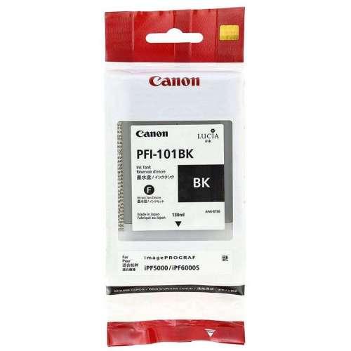 Canon LUCIA PFI-101BK noir Réservoir d'encre d'origine au meilleur au prix sur promos-boutique.com
