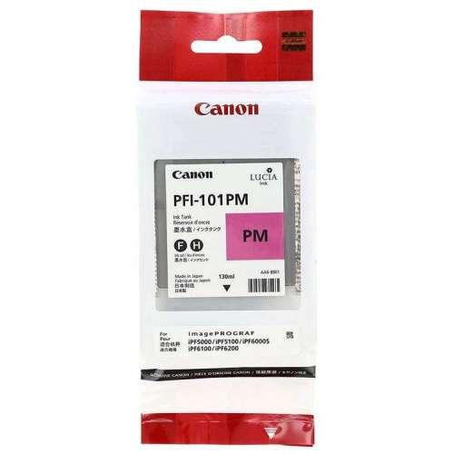 Canon LUCIA PFI-101PM Photo magenta Réservoir d'encre d'origine au meilleur au prix sur promos-boutique.com