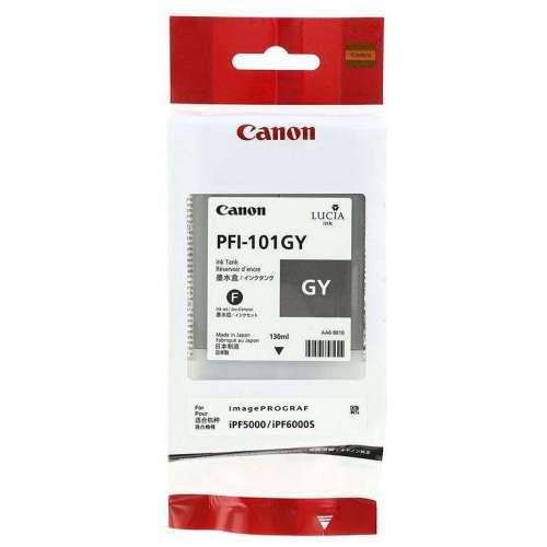 Canon LUCIA PFI-101GY Réservoir d'encre d'origine au meilleur au prix sur promos-boutique.com