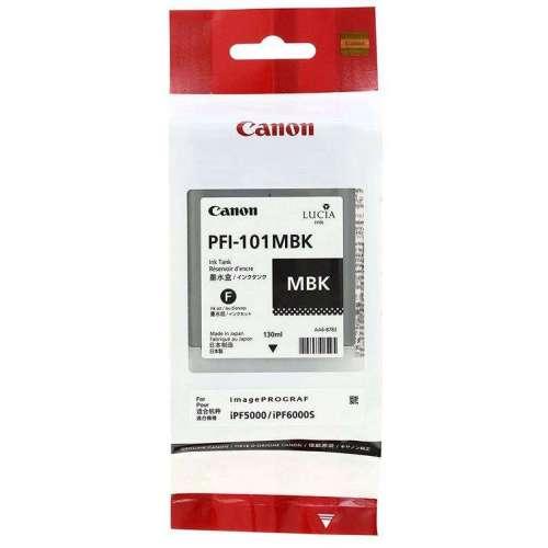 Canon LUCIA PFI-101MBK Mat black Réservoir d'encre d'origine au meilleur au prix sur promos-boutique.com