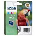 Epson T008 Cartouche d'encre jaune, cyan, magenta, magenta clair, cyan clair
