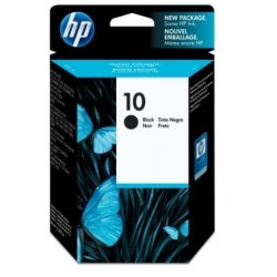 HP 10 noir Cartouche d'encre d'origine - 2200 pages