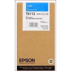 Epson T6112 cyan Cartouche d'encre d'origine au meilleur au prix sur promos-boutique.com
