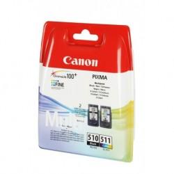Canon PG-510 & CL-511 noir, Couleur Cartouches d'encre