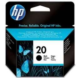 HP 20 noir Cartouche d'encre (C6614DE)