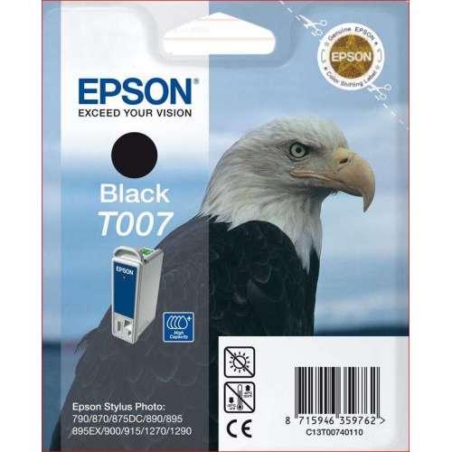 Epson T007 noir Cartouche d'encre d'origine au meilleur au prix sur promos-boutique.com