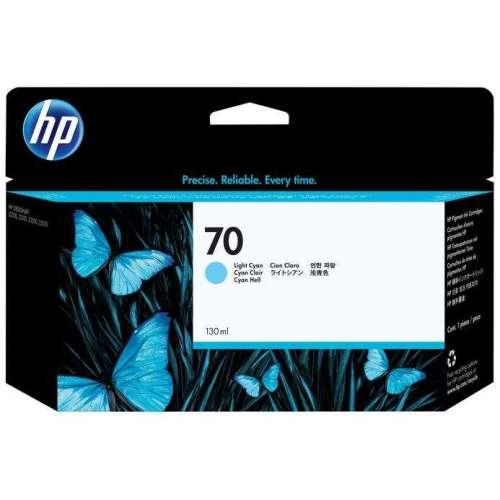 HP 70 cyan clair Cartouche d'encre d'origine - C9390A au meilleur au prix sur promos-boutique.com