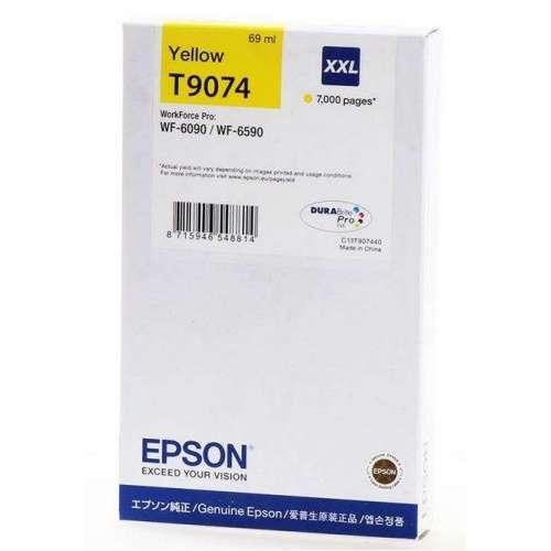 EPSON T9074 jaune Cartouche d'encre d'origine au meilleur au prix sur promos-boutique.com