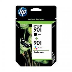 HP 901 noir couleur pack de 2 Cartouches