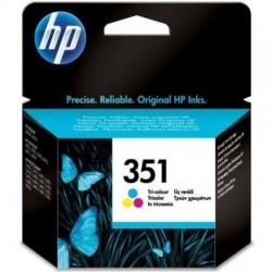 HP 351 Cyan Magenta Jaune Cartouche d'encre au prix le plus bas sur promos-boutique.com