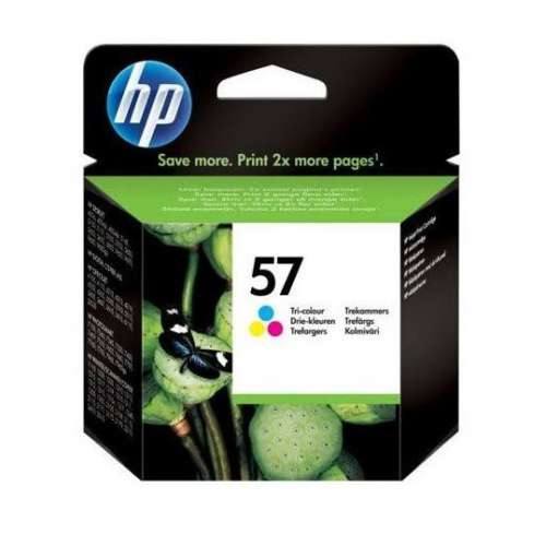 HP 57 Cartouche d'Encre Cyan, Magenta, Jaune - (C6657AE)