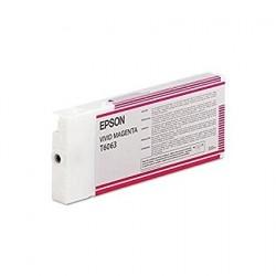 Epson T6063 Cartouche d'encre d'origine magenta vif