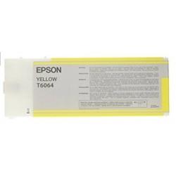Epson T6064 jaune cartouche d'encre 220ML pour Stylus Pro 4800 et 4880