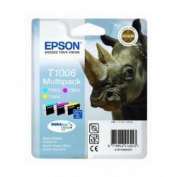 Epson T1006 couleur DURABrite Ultra, cartouches d'encre Multipack Cyan, Magenta, jaune