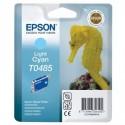 Epson T0485 Cyan clair Cartouche d'encre d'origine pour R200 R220 300 320 340 ME RX500 600 620 640