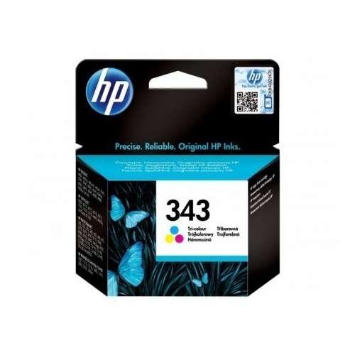 HP 343 Couleur Cartouche d'encre Cyan, Magenta, Jaune - C8766EE