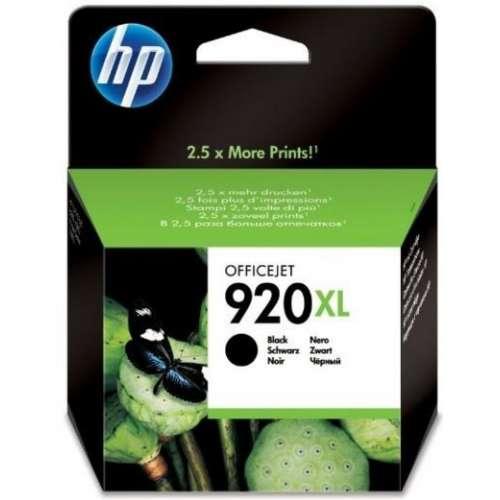 HP 920XL noir Cartouche d'Encre Grande Capacité (CD975AE)