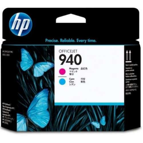 HP 940 Cyan et Magenta Tête d'impression (C4901A)