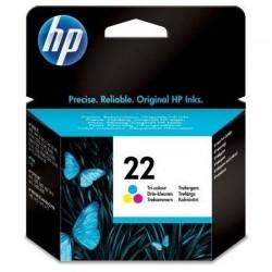 HP 22 Cyan, Magenta, Jaune Cartouche d'encre - C 9352AE