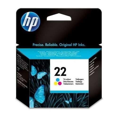 HP 22 Cartouche d'encre Cyan, Magenta, Jaune - C 9352AE
