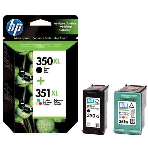HP 350XL/351XL noir couleur