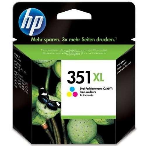 HP 351Xl Cartouche d'encre d'origine Vivera 3 couleurs