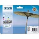 Epson Multipack T0445 Cartouches d'encre d'origine noir, magenta, jaune, cyan