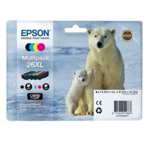 Epson 26XL noir couleur Multipack