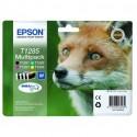 EPSON Multipack Renard T1285 Noir, Cyan, Magenta, Jaune