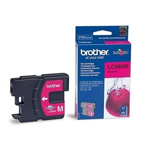 Brother LC980 magenta Cartouche d'encre d'origine 260 pages