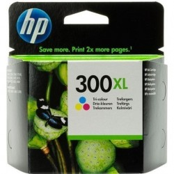 HP 300XL Cartouche d'encre Cartouche Cyan, Magenta, Jaune Grande Capacité CC644EE