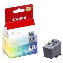 Canon CL-51 Cyan, magenta, jaune Cartouche d'encre d'origine