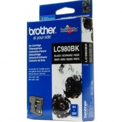 Brother LC980BK noir Cartouche d'encre d'origine 300 pages