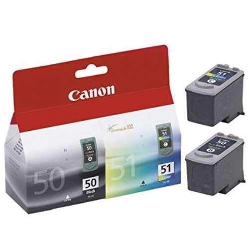 Canon PG-50 noir / CL-51 couleur