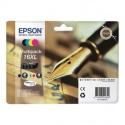 EPSON Multipack Stylo Plume T1636 noir, couleur