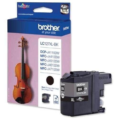 Brother LC127XLBK noir Haute Capacité 1200 Pages