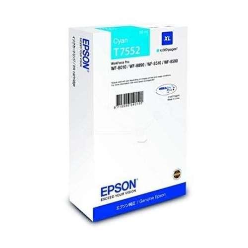 Epson T7552 cyan Cartouche d'encre d'origine