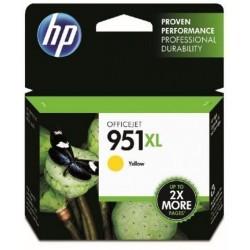 HP 951XL jaune Cartouche d'encre Grande Capacité (CN048AE)